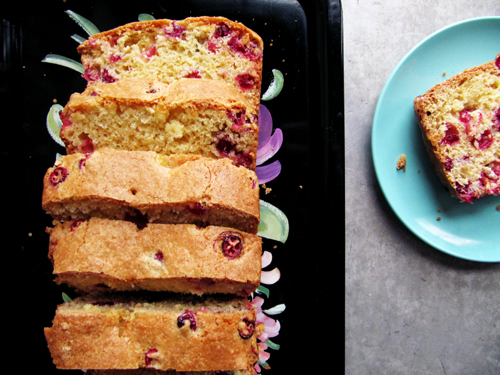 Cranberry Orange Bread // take a megabite