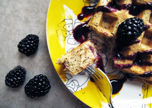 Lemon Poppy Seed Waffle Bite // take a megabite