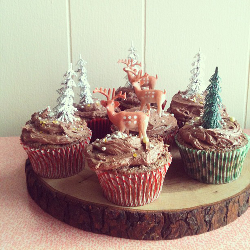 Christmas Cupcakes // take a megabite