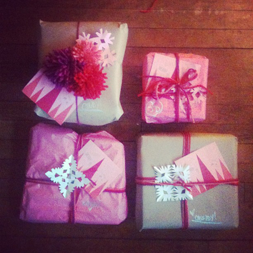 Christmas Wrapping // take a megabite