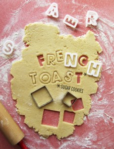 French Toast Sugar Cookies // take a megabite