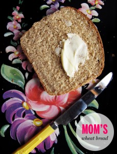 Mom's Wheat Bread // take a megabite