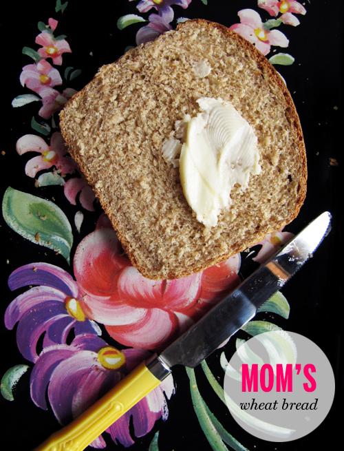 Mom's Wheat Bread // take a megabite