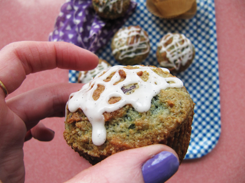 Blueberry Yogurt Muffin For You // take a megabite