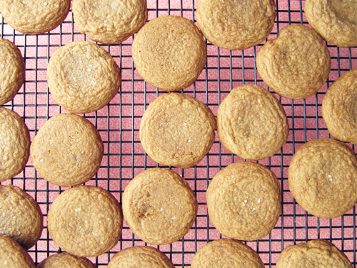 Coconut Oil Brown Sugar Cookies // take a megabite