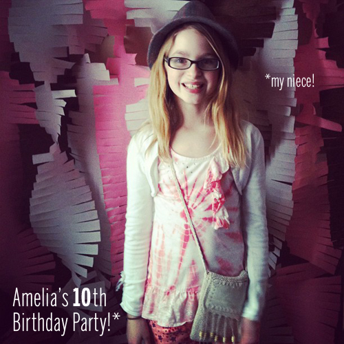 Amelia's Party // take a megabite