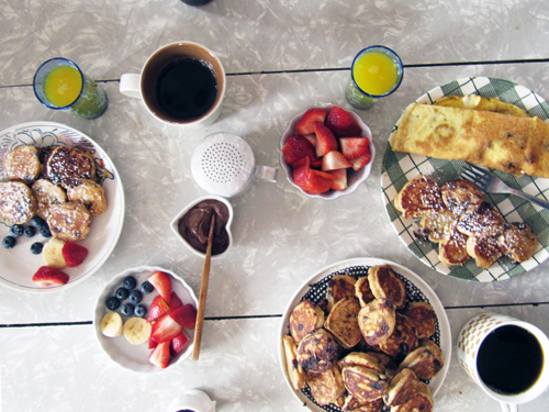 Easter Brunch // take a megabite