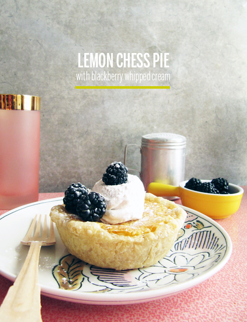 Lemon Chess Pie // take a megabite