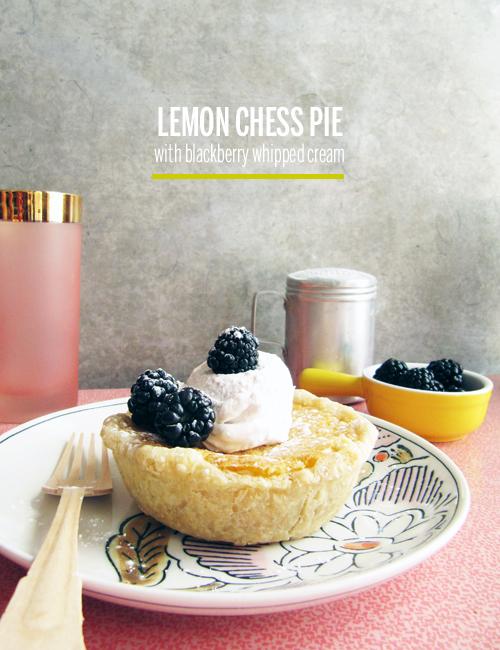 Lemon Chess Pie // take a megabite