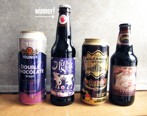 The Milk Stout Wins // take a megabite