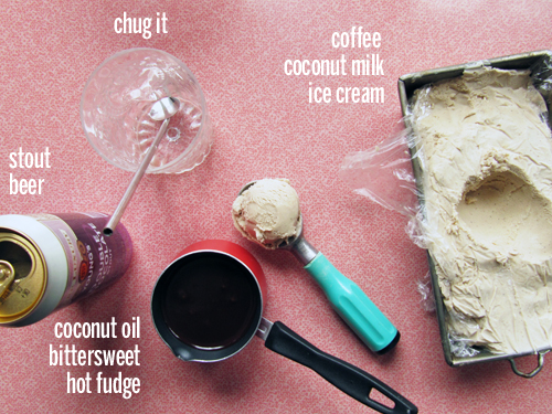 Dairy-Free Stout Float Ingredients // take a megabite