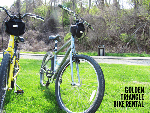 Golden Triangle Bike Rental, Pittsburgh  // take a megabite