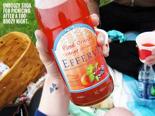 Blood Orange Soda // take a megabite