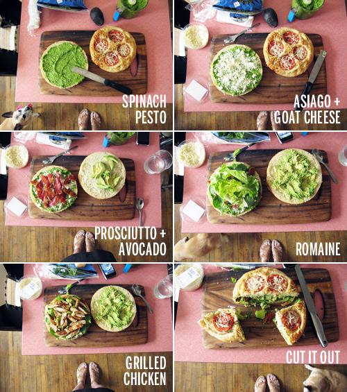 Picnic Sandwich // take a megabite