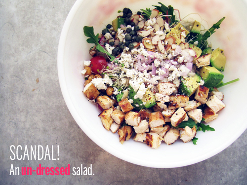 Funfetti Salad // take a megabite