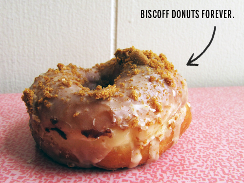 Biscoff Glazed Donut // take a megabite