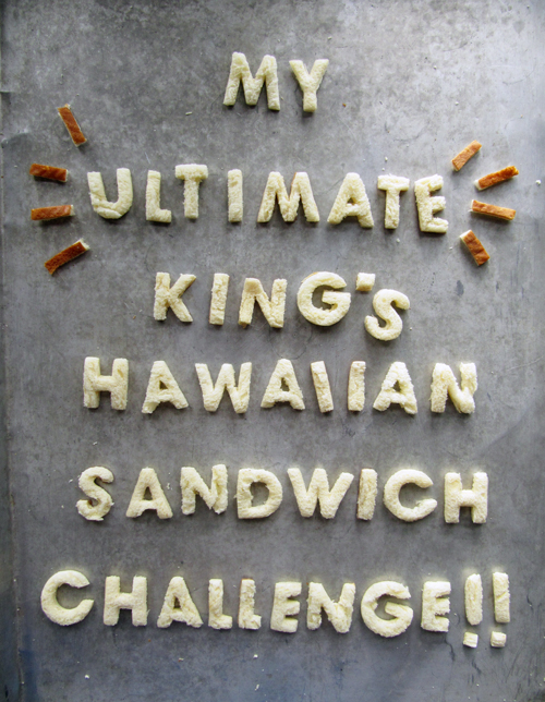 Kings Hawaiian Sandwich Challenge // take a megabite