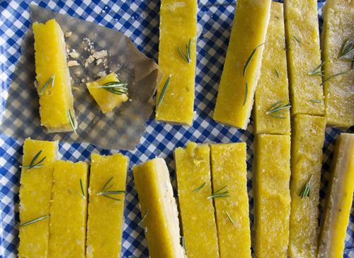 Lemon Bars with a Rosemary Shortbread Crust // take a megabite