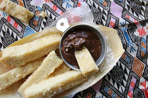 Maple Shortbread Fries // take a megabite