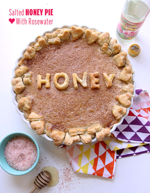Salted Honey Pie, Honey // take a megabite