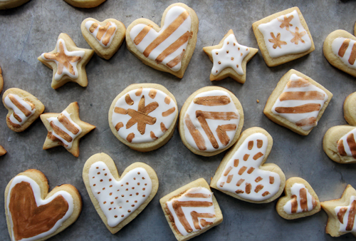 Bling-Bling Sugar Cookies // take a megabite