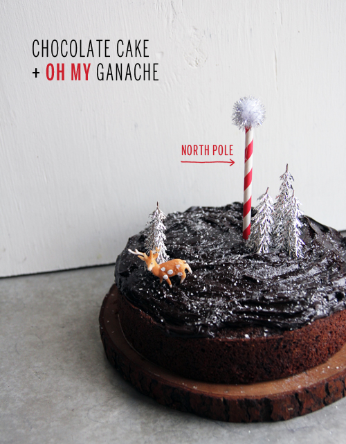 Chocolate Cake + Oh My Ganache // take a megabite
