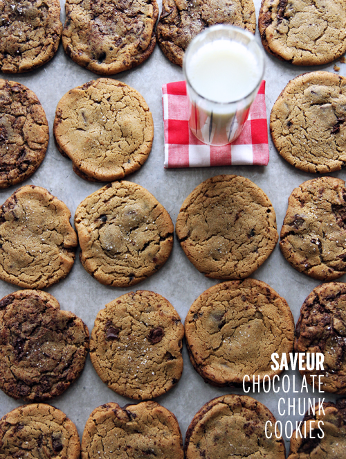 Saveur Chocolate Chunk Cookies // take a megabite