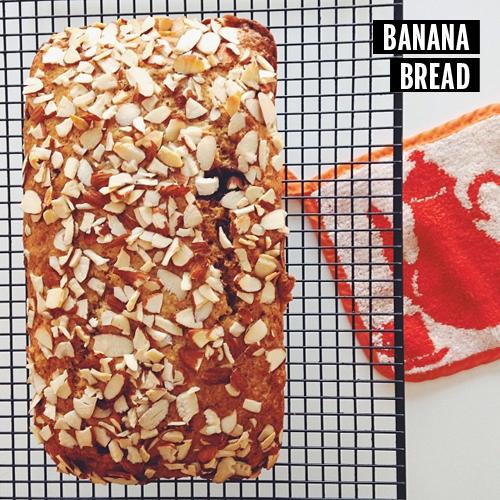 Banana Bread // take a megabite