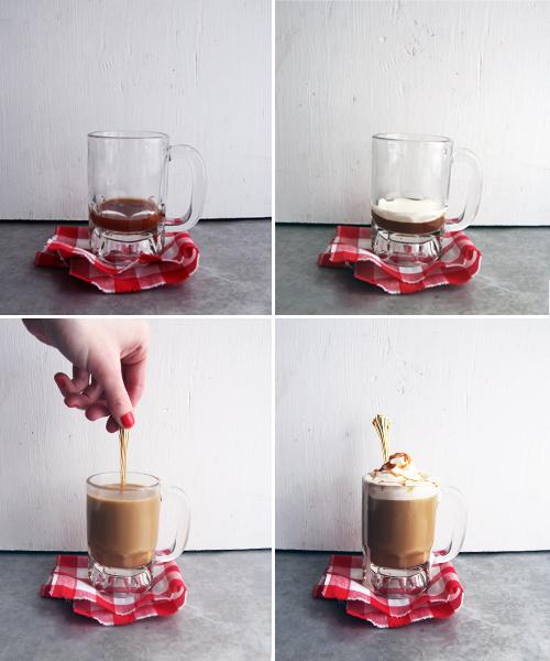 Cafe Caramel Steps // take a megabite