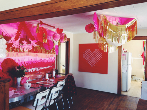 The 6th Annual Valentine's Brunch // take a megabite