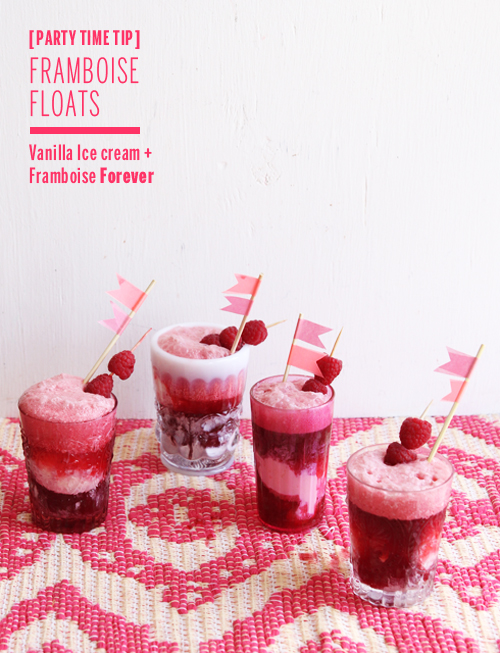 Framboise Floats // take a megabite
