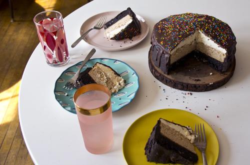Neapolitan Cake // take a megabite