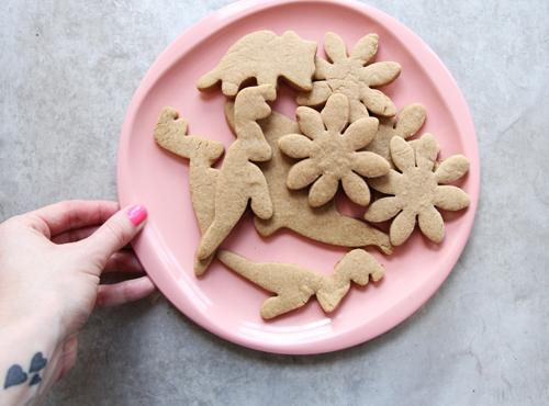 Cinnamon Spice T-Rex Cookies  // take a megabite