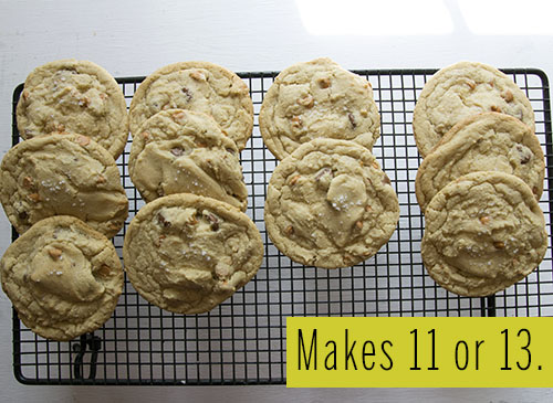 One Dozen Large Marge Blondie Cookies // take a megabite