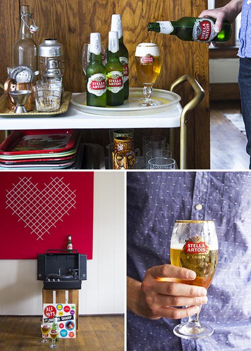 Stella Artois // take a megabite