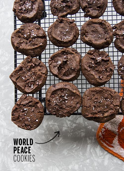 World Peace Cookies // take a megabite