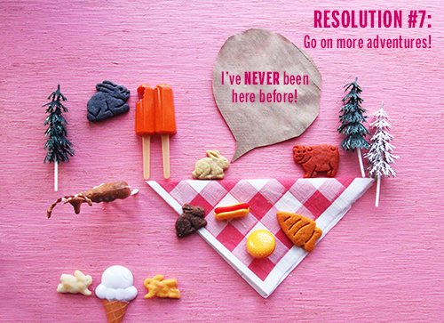 Bunny Resolutions // take a megabite