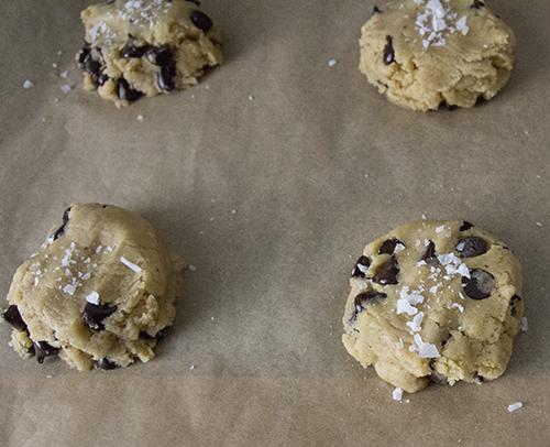 Vegan Chocolate Chip Cookies // take a megabite