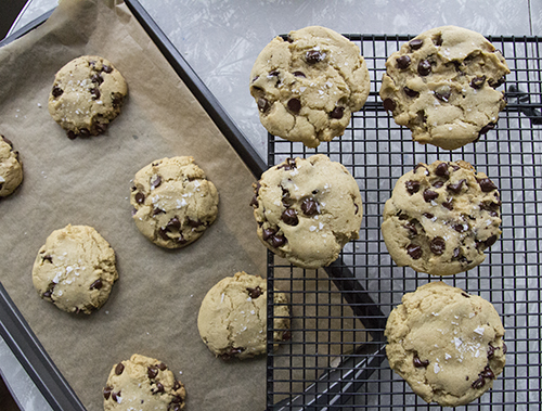 Vegan Chocolate Chip Cookies // take a megabite
