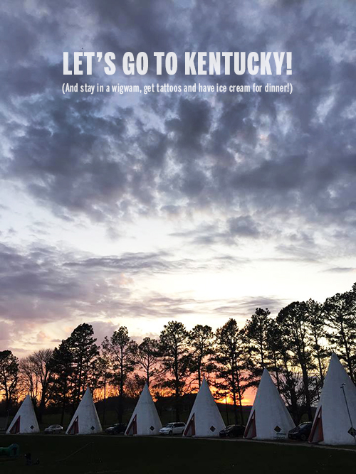 Let's go to Kentucky! // take a megabite
