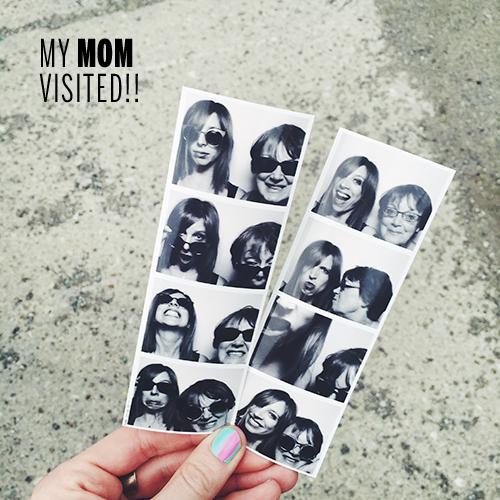 Mom visit // take a megabite