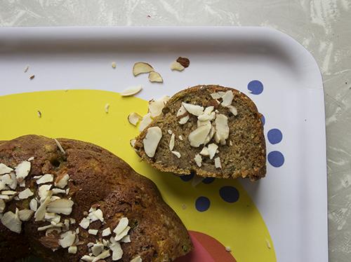Vegan Zucchini Snack Cake // take a megabite