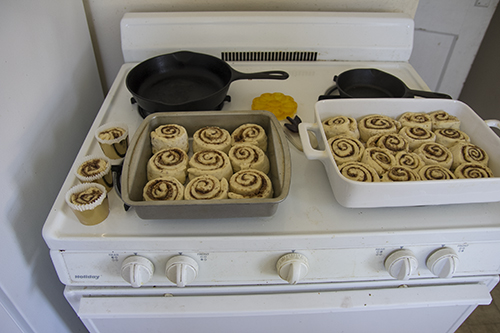 Vegan Cinnamon Rolls // take a megabite