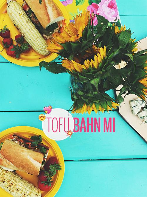 Tofu Bahn Mi // take a megabite