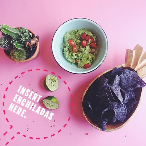 Vegan Black Bean Sweet Potato Enchiladas // take a megabite