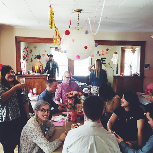 Processed with VSCOcam with f2 The 8th Annual Valentine's Brunch Party // take a megabite