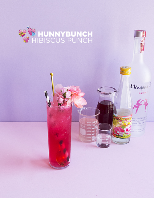 Hunnybunch Hibiscus Punch // take a megabite