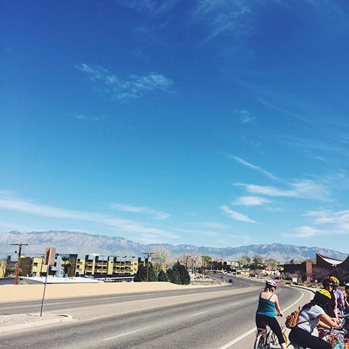 Let's Go To Albuquerque // take a megabite