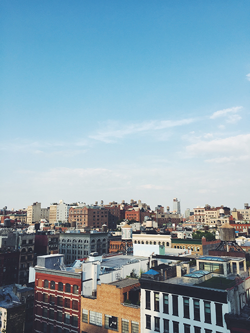 NYC IS FOR ME.