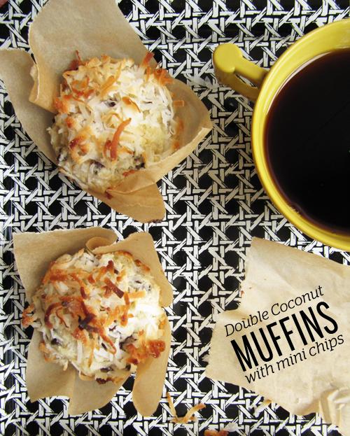 muffins double coconut muffins vegan double coconut coconut double ...